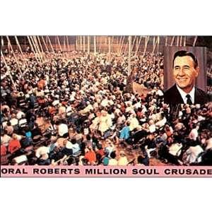 Oral Roberts Million Soul Crusade POSTCARD ministries