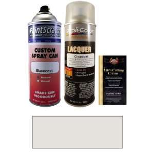 12.5 Oz. Arctic Silver Metallic Spray Can Paint Kit for 2004 Porsche