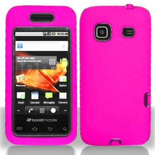 Pink Double Layered Hard Case Samsung Galaxy Prevail