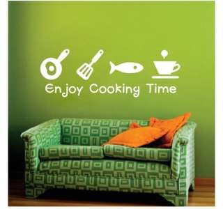 Kitchen / Living room Decor Mural Wall Sticker Decal S056 (various