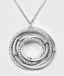 Wonderful 18KWhiteGold Necklace from Marco Bicego Goa collection.