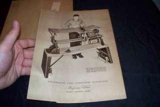 wonderful rare vintage 1952   1953 montgomery ward powr kraft power