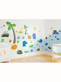 Precious Planet Giant Wall Sticker Set   Complete Room Makeover