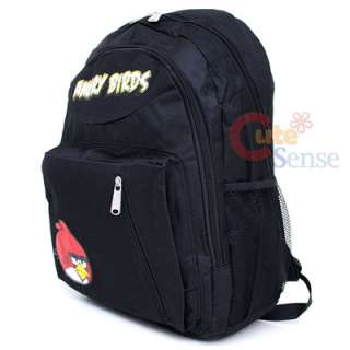 Angry Birds Shcool Backpack Lunch Bag Black 2