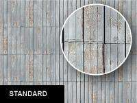 0095 Corrugated Metal Roofing / Siding Texture Sheet