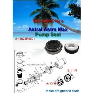 Astral Pool Astramax Pump Shaft Seal
