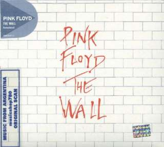 PINK FLOYD THE WALL SEALED 2 CD SET DISCOVERY EDITION REMASTERED 2011
