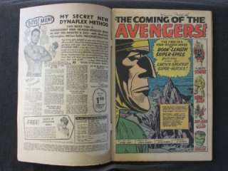 Avengers #1 MARVEL 1963   1st App & ORIGIN of Avengers   Hulk Iron Man