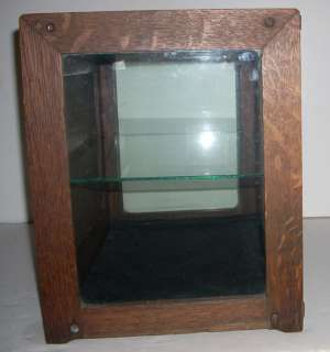 Antique / Vintage Oak Candy Store Counter Display Case