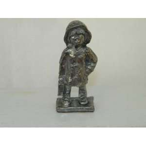 Vintage Austin Productions Pewter Figurine 1975 Boy