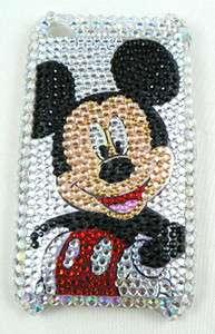 Mickey Mouse Skin Apple iphone 3G 3GS Rhinestone crystal bling hard