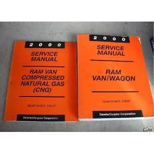 2000 Dodge Ram Van Wagon Service Repair Shop Manual Set (service