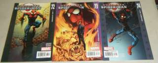 ULTIMATE SPIDER MAN #64,65,66,67,68,69,70,71,72,73,74