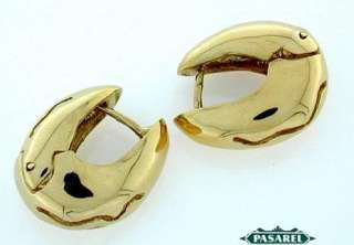 Stunning 14k Yellow Gold Huggie Earrings MUST SEE