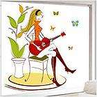 Square Pattern Wall Art Home Decal Paper Sticker (50 x 70 cm)