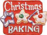 boy girl cub CHRISTMAS BAKING cookies Fun Patches Crests Badges SCOUT