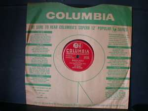 78 rpm COLUMBIA ROBIN HOOD Les Brown Big Band Jazz JUKEBOX RECORD