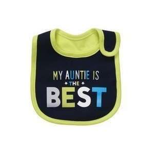 Carters Bib  My Aunt Loves Me /I Love My Auntie   Boys or