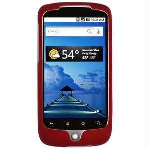 HTC / SnapOn for Googles (Nexus One) Rubberized Red Cover