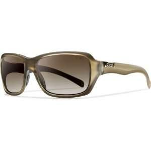 Smith Optics Brooklyn Sunglass, Matte Desert / Polarized Brown