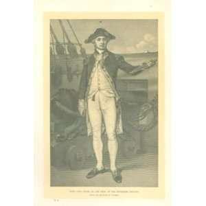 1905 John Paul Jones Bon Homme Richard Ranger Navy