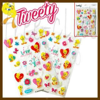 Looney Tunes TWEETY Puffy Stickers by Hallmark (56pc)