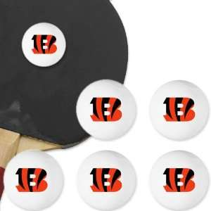 Cincinnati Bengals Table Tennis Balls