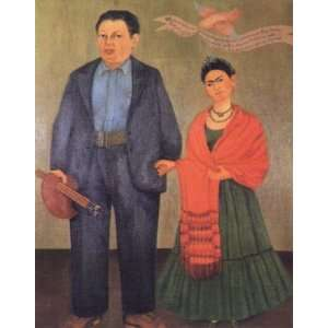 Kahlo Art Reproductions and Oil Paintings Frida and Diego Rivera Oil
