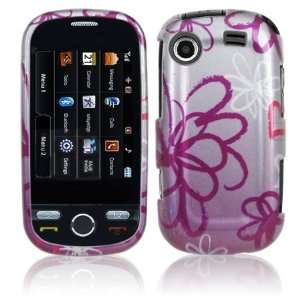 Hard 2 Pc Plastic Snap On Case for Samsung Messager Touch R630/R631
