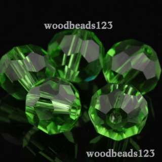 100pc 6mm Round 5000 Swarovski Crystal Beads  Pick Color