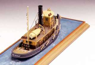 The Model Shipways kit is based on the tugs Betsy Ross of Philadelphia