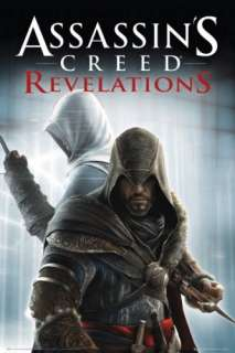 ASSASSINS CREED REVELATIONS   GAMING POSTER (KNIVES)