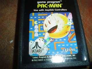 ATARI PAC MAN GAME