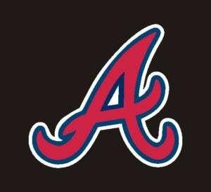 Atlanta Braves MLB Decal, Helmet Sticker 2 #7h