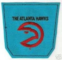 1972 ATLANTA HAWKS NBA BASKETBALL JEANS POCKET PATCH