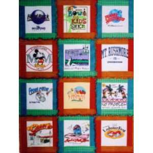 Treasured Tees Rag Quilt Pattern by Just My imagination
