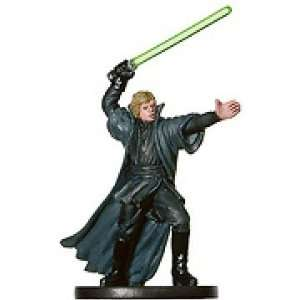 Star Wars Miniatures Luke Skywalker, Jedi Master # 53