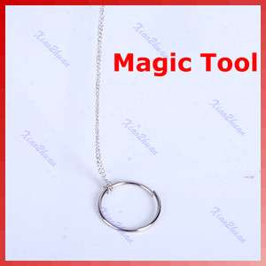 Simple Magic Trick Toy Tool Chain Ring For Kid Children