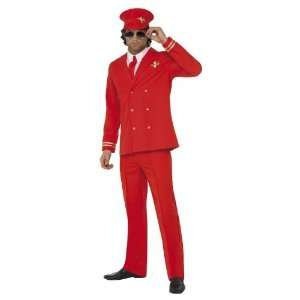 Icons & Idols Red Pilot High Flyer Fancy Dress (Chest 38