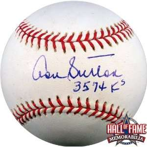 Don Sutton Autographed/Hand Signed Rawlings MLB Baseball with 3574 KS