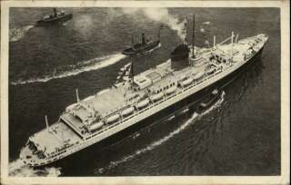 FRENCH LINE Transatlantique SS Champlain STEAMSHIP PC