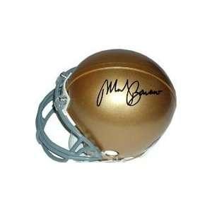 Mark Bavaro autographed Football Mini Helmet (Notre Dame