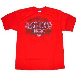 Montreal Canadiens RBK Burner T Shirt: Sports & Outdoors