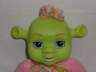 Shrek LAUGH WITH ME Baby Girl Ogre 13 Plush Doll GIGGLING Vibrating
