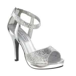 SIDNEY by Touch Ups in SILVER Shoes Bridal Bridesmaid Prom