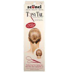 New Scunci Topsy Tail or Conair Topsytail Hairstyling Tool of Your