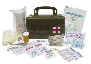 GI Spec First Aid Kit for Survival, Hunters, Outdoors   NEW IN SEALED