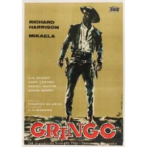 Gunfight at Red Sands Poster Movie Spanish 27 x 40 Inches