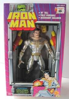 Iron Man Deluxe Edition Tony Stark Techno Suit 10 035112484073
