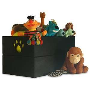Paw Design Dog Toy Box   Black   Frontgate